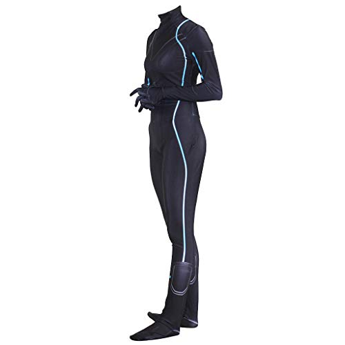 rs Black Widow Cosplay Siamese Strumpfhosen Cosplay Kostüm Halloween Kleider Party Maskerade Cosplay,Black-L ()