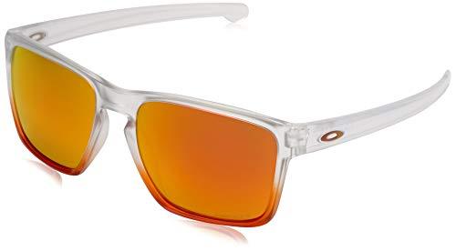 Ray-Ban Herren Sliver Sonnenbrille, Rot (Rojo), 56