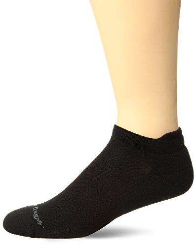 Kissen Tab Socke (Darn Tough Vertex No Show Tab Ultralight Kissen Cool Max Socken xl schwarz)