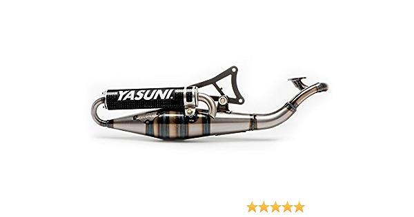 Auspuff Yasuni Scooter R Aluminium f/ür Minarelli liegend