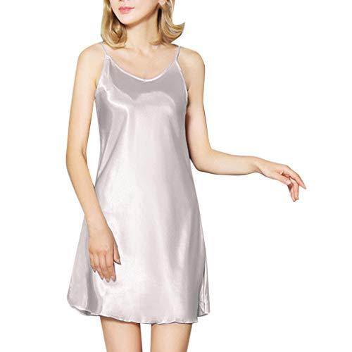 c03b90e3e7e1 MORETIME Babydoll, Riguarda l'Abbigliamento da Notte Sexy Lingerie Intimo  Donna Taglia Raso -