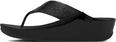 Fitflop Crystall Sandali Neri UK7 Nero