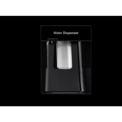 Hisense RS723N4WB1 Side By Side Fridge Freezer in Black