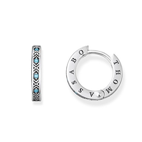 Thomas Sabo Damen-Creole 925_Sterling_Silber Turkis CR601-667-17