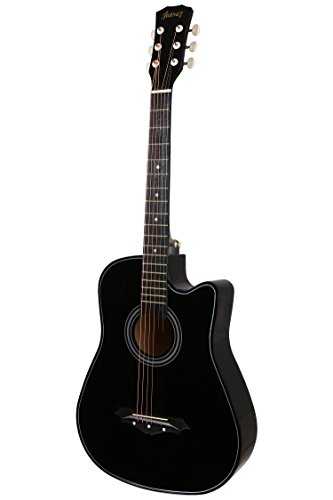 71 off on juarez acoustic guitar 38 inch cutaway 038c with bag strings pick and strap. Black Bedroom Furniture Sets. Home Design Ideas