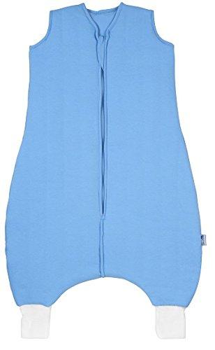 Schlummersack Schlummersack Schlafsack mit Füßen Ganzjahres-Variante in 2.5 Tog - Blau - 3-4 Jahre/110 cm