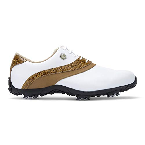 Footjoy Arc Lp, Scarpe da Golf Donna, (Bianco/Marron 93950w), 38 EU