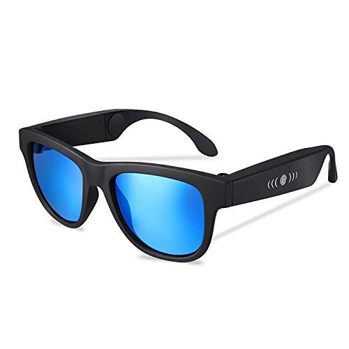Smart Touch Knochenleitung Bluetooth-Brille, verhindern Blendung und UV-Objektive, geeignet für Laufen, Outdoor, Radfahren, Fahren