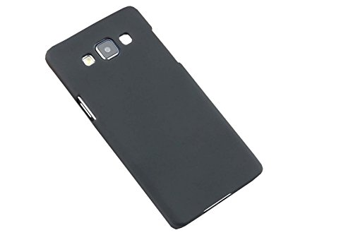 WOW Imagine(TM) Rubberised Matte Hard Case Back Cover For SAMSUNG GALAXY A5 (Black)