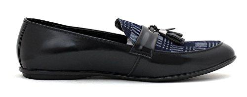 neuf pour hommes élégant Robe À Enfiler Mode Mocassins À Glands Décontracté Bureau pointure de chaussures Noir