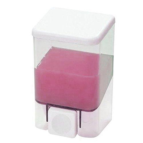 Spender für Seife Wandleuchte Soap Dispenser Weiß Te transparent 100cc (1Liter)