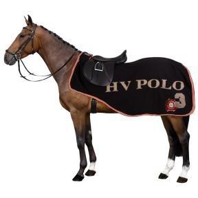 HV Polo Ausreitdecke Favouritas wasserdicht blau oder schwarz alle Größen (Schwarz, M(135))