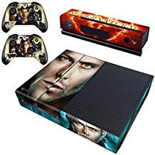 Decal Moments Xbox One Skin Set Vinyl-Aufkleber für Xbox One Konsole Kinect 2 Controller Dean Sam Cosplay