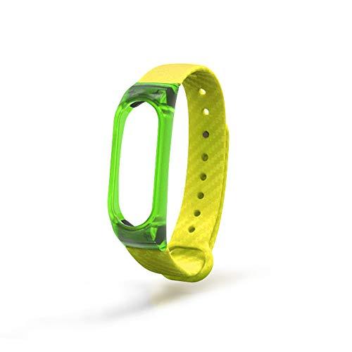 44ee2ec6b6a8 Correas para xiaomi Band 2 Lanskirt Correa de Reloj Xiaomi Mi Band 2  Smartwatch Pulsera de