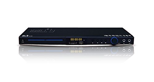 Ibell IBL4399H Dvd Player With 6 Digit Display,HDMI,Usb Port/SD/MMC/MS Card Reader & Built-In Amplifier