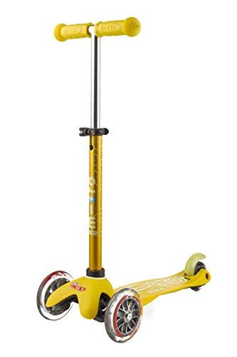 Mini Micro Scooter DELUXE gelb