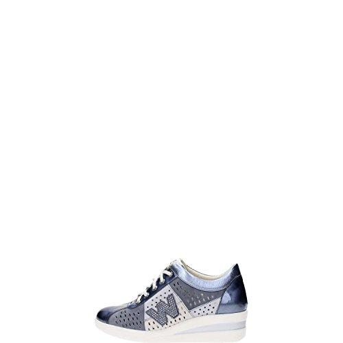 Melluso R2181 Sneakers Donna Vernice Blu Scuro Blu Scuro 41