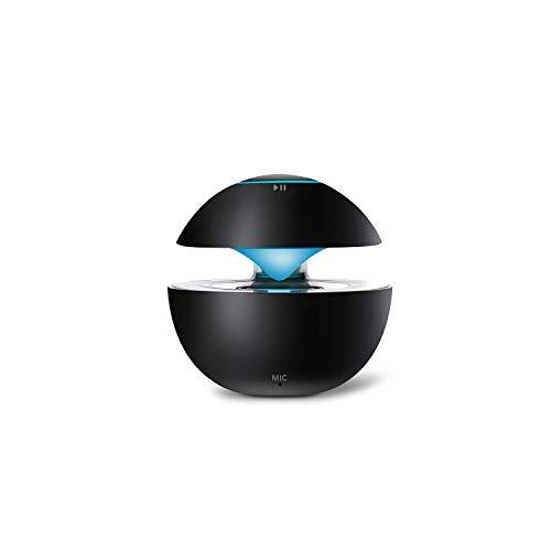 Smart Touch Bluetooth Lautsprecher HD Audio Kabellose Musik Bunter Heller Lautsprecher Freisprechanruf Zuhause, im Freien, Lautsprecher,Black (Smart-tv-enhancer)