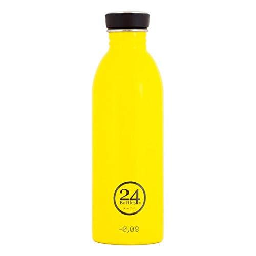 24Bottles Urban, Trinkflasche Unisex Erwachsene, Unisex - Erwachsene, Urban, Taxy Yellow, 500 ml