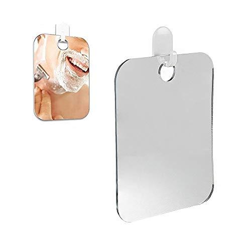 HNBGY Excelente Mini Espejo de Ducha Anti-Niebla Espejo de Aseo Portátil para...