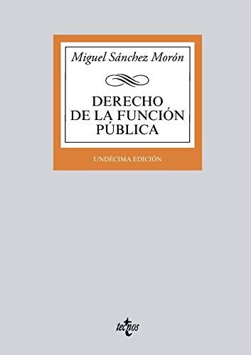Derecho de la función pública por Miguel Sánchez Morón
