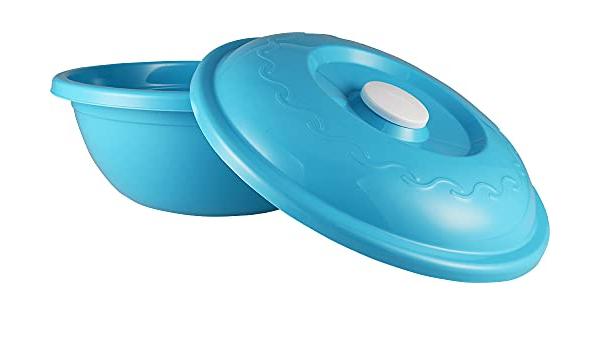 Teigschüssel Hefeteigschüssel mit Deckel Aufbewahrungsbox c.a18 L Küchenschüssel