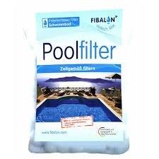 FIBALON POOL - Hochwirksames Filtermaterial für Pool Sandfilteranlagen im 350g Beutel