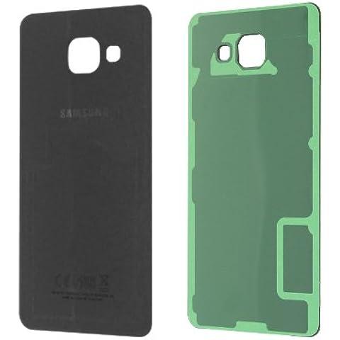 Copri batteria Vetro posteriore in nero per Samsung Galaxy A52016a510°F–A/S Assy _ Euro Open _ sevt (ZW)
