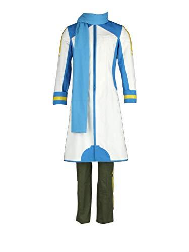Kostüm Kaito Cosplay - mtxc Herren Vocaloid Cosplay Kostüm Kaito, Weiß