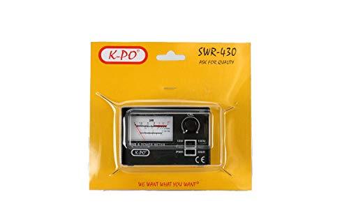 K-PO SWR-430 Medidor estacionarias R.O.E. / Watimetro