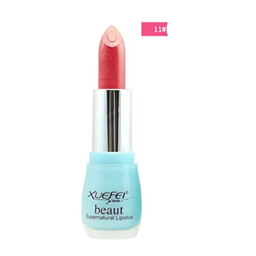 LHWY Crema Hidratante de Larga Duracion Waterproof Lápiz Labial Maquillaje Brillante Lipgloss