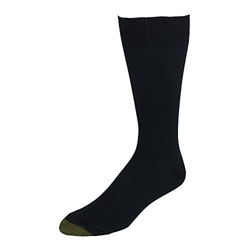 Gold Toe Men's Extended Size Metropolitan Dress Socks (3 Pair Pack)