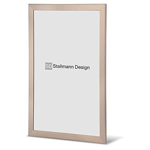 Stallmann Cadre photo en bois MDF Blanc New Modern 10 x 15 cm