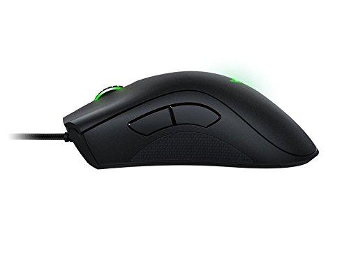 Razer DeathAdder Chroma RGB beleuchtete Ergonomische Gaming Maus (10.000 dpi Sensor) - 3
