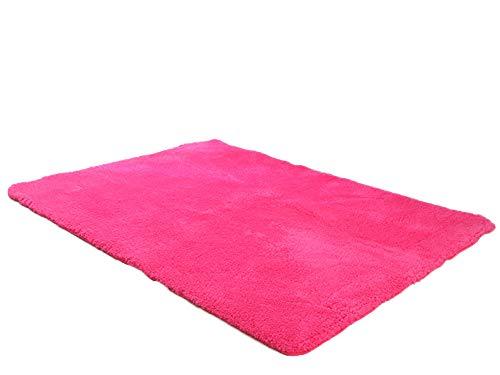 Rose Oval Teppich (ZhuikunA Dick Schmutzfangmatte, Badezimmermatte Türmatte, Bodenmatte Teppich, Fußmatte Rose 1.2 * 1.6(120x160 cm))