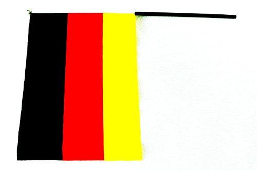 4 X Deutschland Fahne Deko Flagge WM 20 x 15 CM by schenkfix
