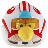 """Offizielle Angry Birds Star Wars 6"""" Plüschtier aus Serie 2 - Luke Skywalker (X-Wing Helm)"""