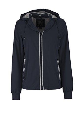 Geox Woman Jacket, Giacca Donna, Blu (Dark Navy F4300), (Taglia Produttore: 40)