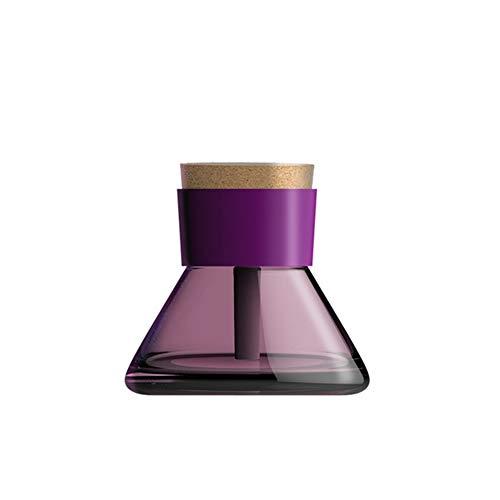 Zak Miller Mini Ätherische Öldiffusoren Desktop Leise Aromabefeuchter Klein Befeuchtender Sprühreiniger Tragbarer USB Aroma-Diffusorbefeuchter,Purple