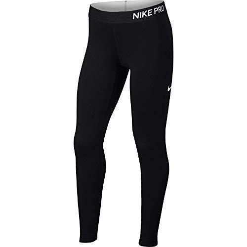 Nike G DamenMädchen Np Wm M Tght Schwarzschwarzschwarzweiß lKFJT1c