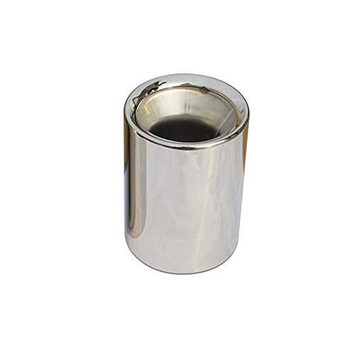 Edelstahl-Abgasschalldämpfer, Oberfläche beschichtet, passend für BMW X1 und X3