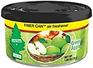 Little Trees Fiber Can-Green Apple Car Air Freshener, UFC1781624