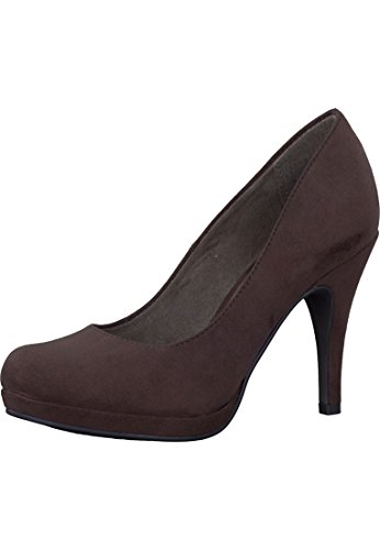 Tamaris Plateau Pompe High Heel Brown 1-22407-27 323 Espresso Braun