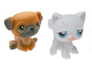 littlest-pet-shop-petshop-duo-hors-emballage-chien-carling-chat-blanc
