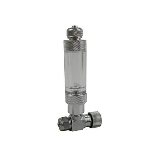Rongzou CO2-Regler - Nadelventil-Einstellsatz, Blasenventile, CO2-Ausgleichssystem Für Aquarium-Aquarien -
