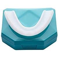 DURO Férula Dental Placa de Descarga Nocturna Protector Bucal para dormir anti Bruxismo Rechinar los dientes y los Trastornos del ATM