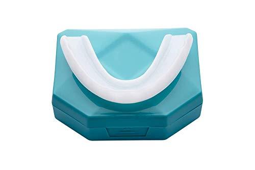 NEU Professional Aufbissschiene (2 Stk) inkl. Aufbewahrungsbox BPA frei Zahnschutz beim nächtlichen Zähneknirschen Knirscherschiene Zahnschiene 100% ige Zufriedenheitsgarantie