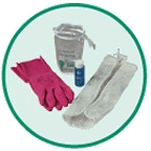 Juzo 05413prenda, Kit de cuidado: detergente, guantes, bolsa para la colada–tamaño mediano.