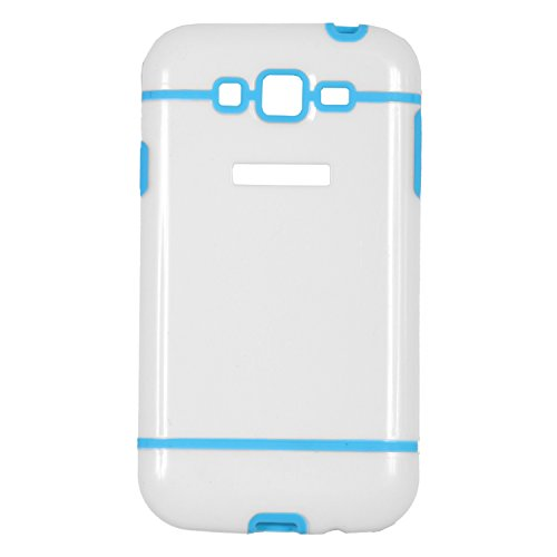 iCandy™ Dual Tone Hard PC Back Cover For Samsung Galaxy Grand S9082 / Grand Neo S9060 / Grand Neo Plus S9060i - Turquoise  available at amazon for Rs.115