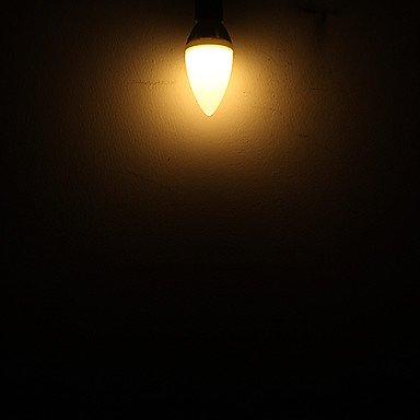 FDH 3W E14 C35 Luces de velas LED 10 SMD 3328 295 lm Cool White 220-240 V CA